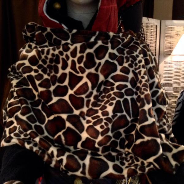 """Etole FFur """"Girafe"""""""