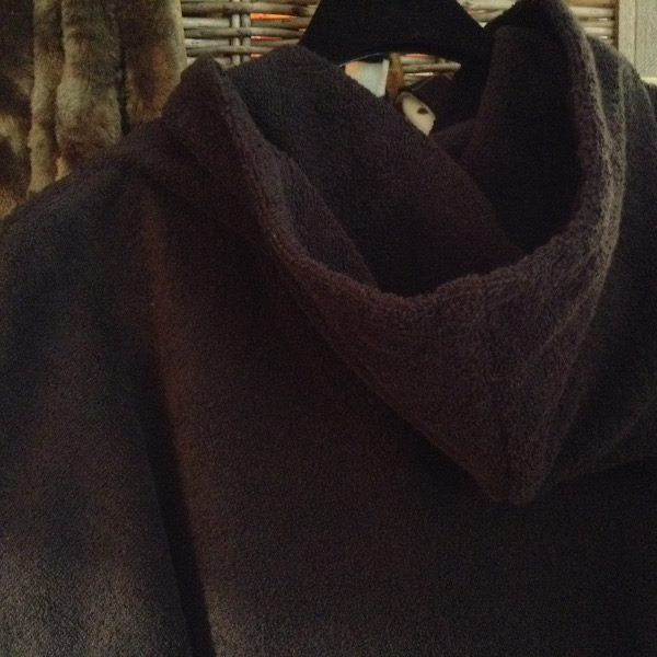 Sweat Tissu Eponge Noir