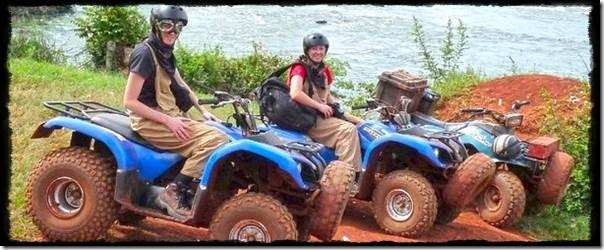 All Terrain Quad Bike Safari along the Nile at Jinja