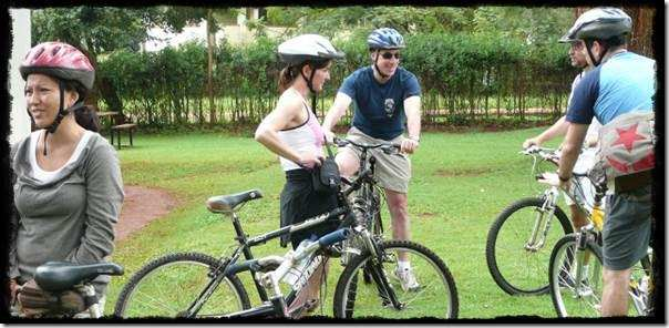 Mountain Biking along the Nile at Jinja