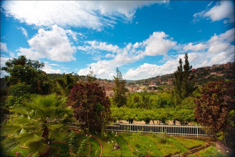 Scenic Kigali Landscape