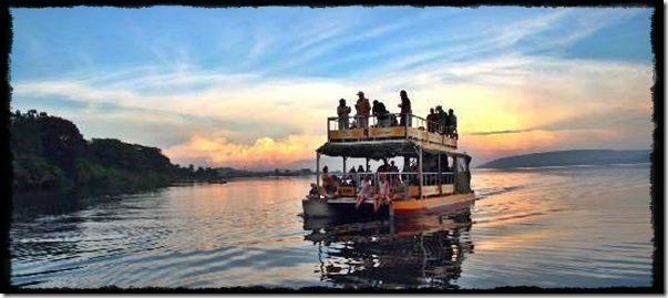 Sunset Cruise at Jinja