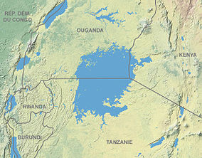 Location of Mount Elgon National Park