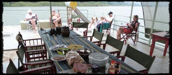 House boat safari on Lake Victoria - Jinja