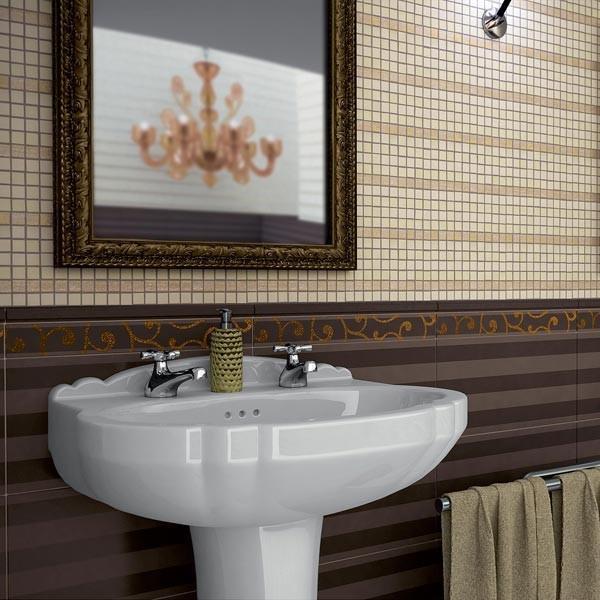 Rivestimento 20x40 casaeco pavimenti e rivestimenti in - Rivestimento mosaico bagno ...