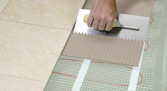 Posa in opera materiale casaeco pavimenti e rivestimenti - Materiale per piastrelle ...
