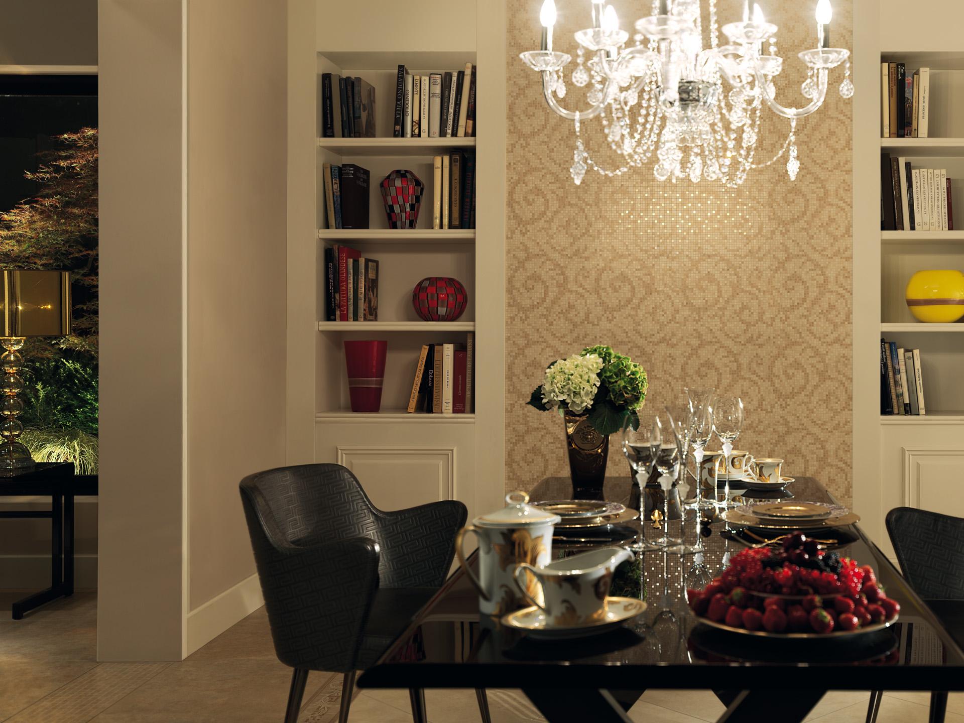 Versace serie vanitas casaeco pavimenti e rivestimenti - Piastrelle bagno versace ...