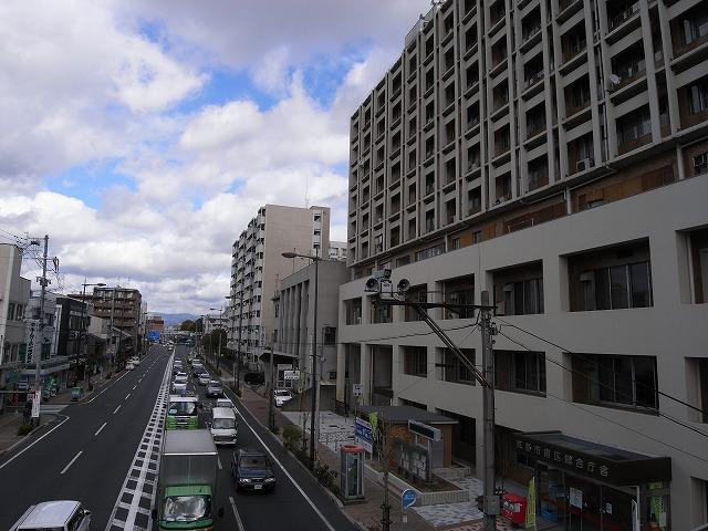 本日の団地は京都市南区にある 「九条団地」です。