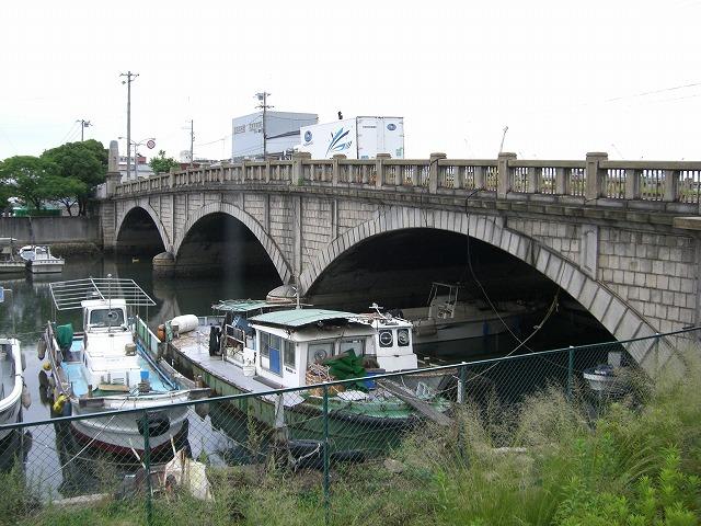 神戸市兵庫区は運河の街です。いろいろな場所に運河があります