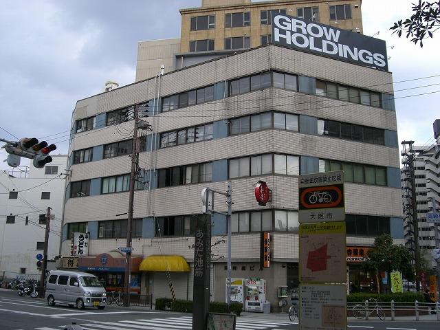 本日の団地は大阪市にある 「岡崎橋団地」です。
