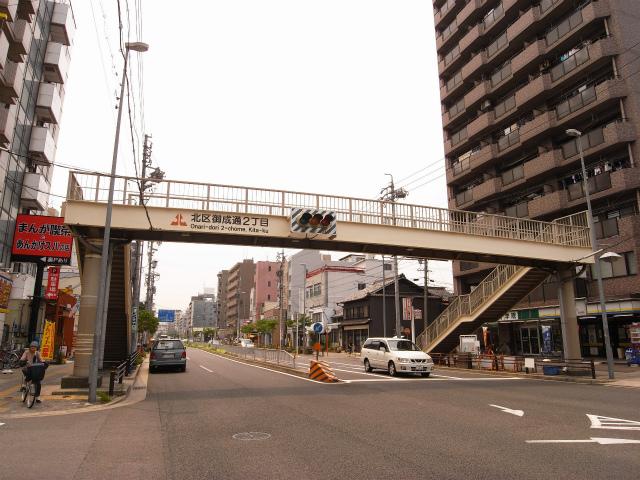 団地が数多く点在する上飯田から少し歩くと 御成通に着きます。