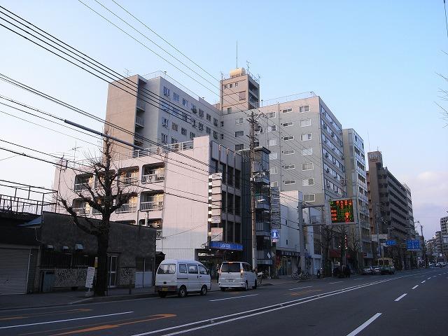 本日の団地は京都市にある 「河原町五条団地」です。