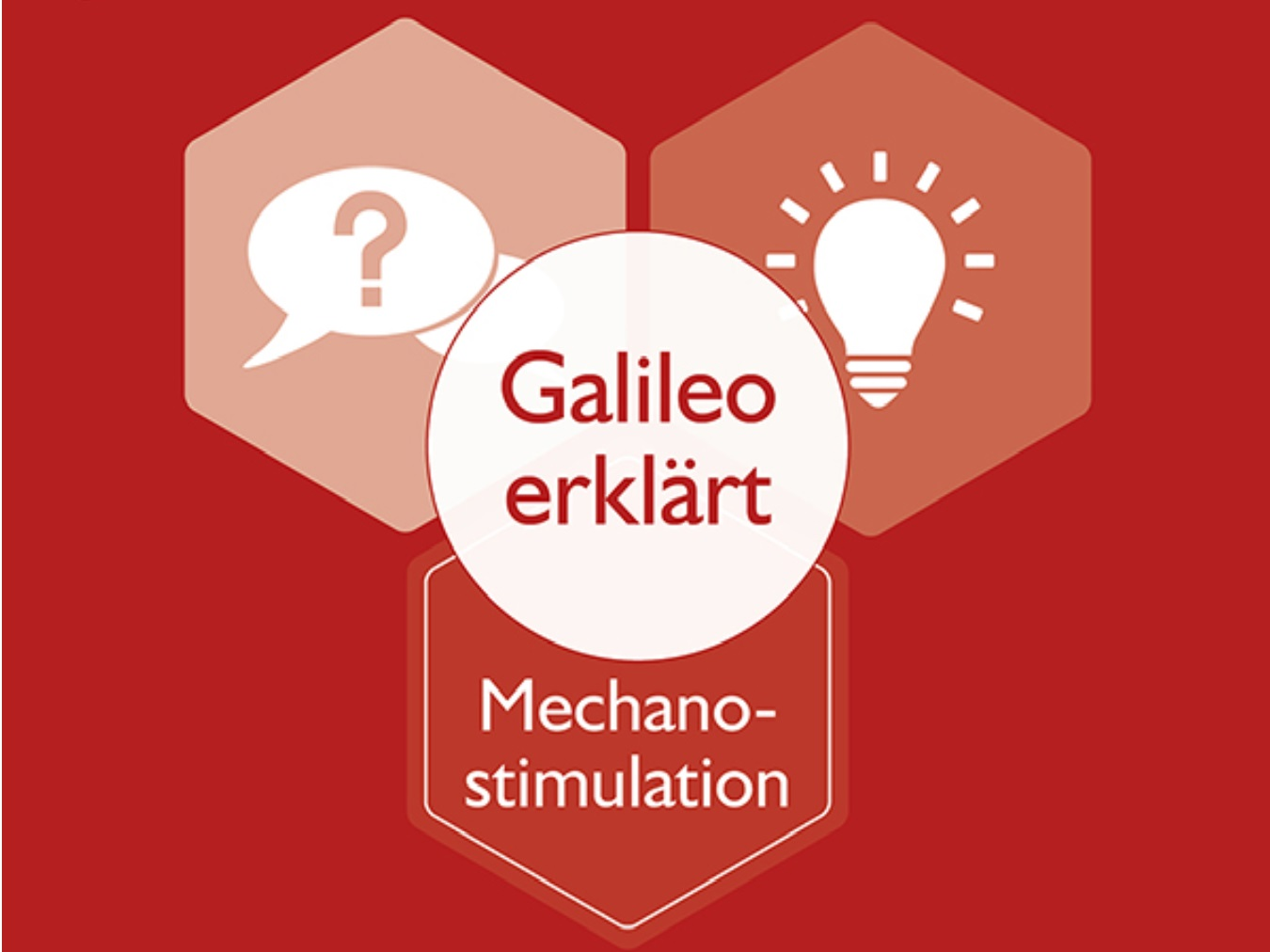 Galileo erklärt - Mechanostimulation