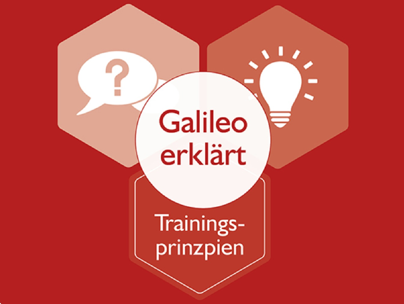 Galileo erklärt - Trainingsprinzipien