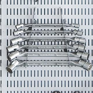 Regalsystem für Werkzeug, Werkzeugaufbewahrung, Regal für Werkzeug, Kellerregal