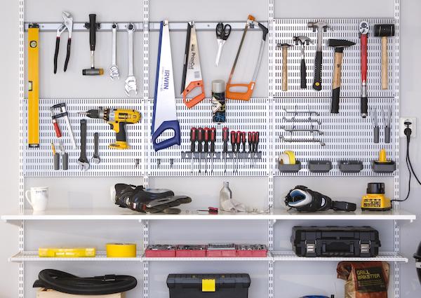 So können Sie Ihr Werkzeug übersichtlich verstauen - Alles hat seinen Platz