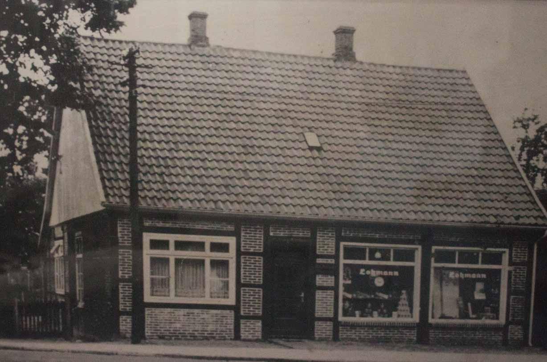 Geschäftsgebäude Lohmann um 1935