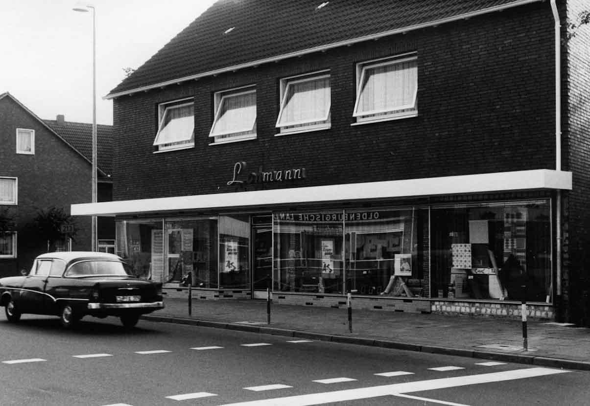Geschäftsgebäude Lohmann um 1963
