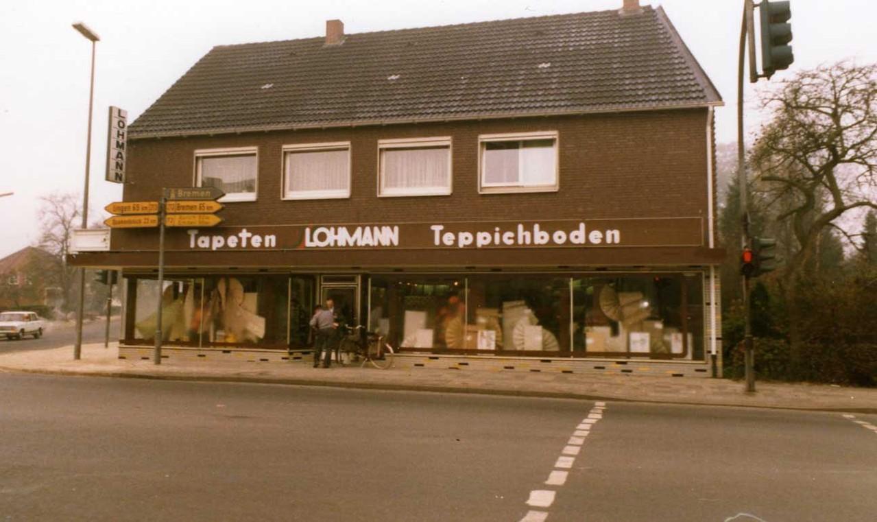 Geschäftsgebäude Lohmann um 1966