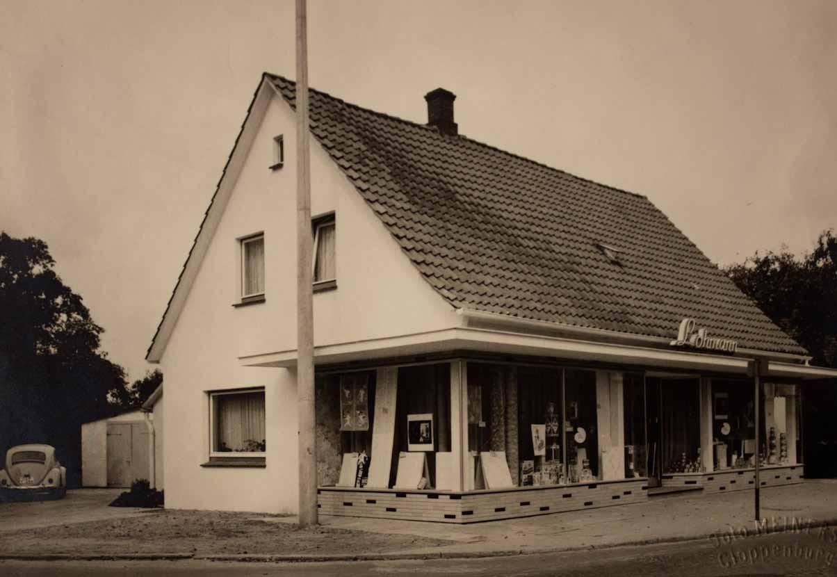 Geschäftsgebäude Lohmann um 1942