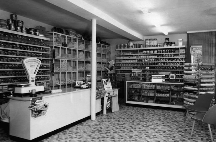 Fachmarkt Lohmann um 1960