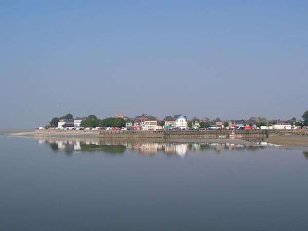 Le Crotoy, seule ville côtière du département tournée vers le Sud