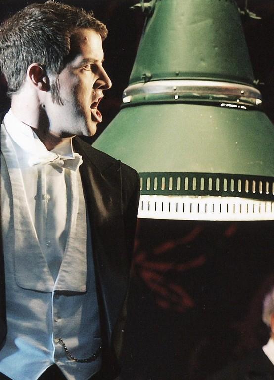 Daniel Pohnert in La Traviata;TfN,  Foto: Andreas Hartmann
