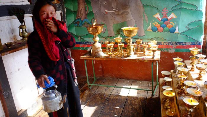 Vorbereitungen fürs Auli-Fest, dem wichtigsten Fest der Layaps