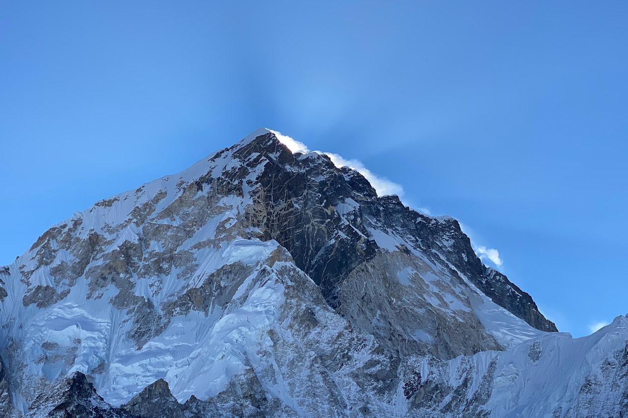 Auf den 7000 und 8000er Gipfel weht ein kalter Wind.