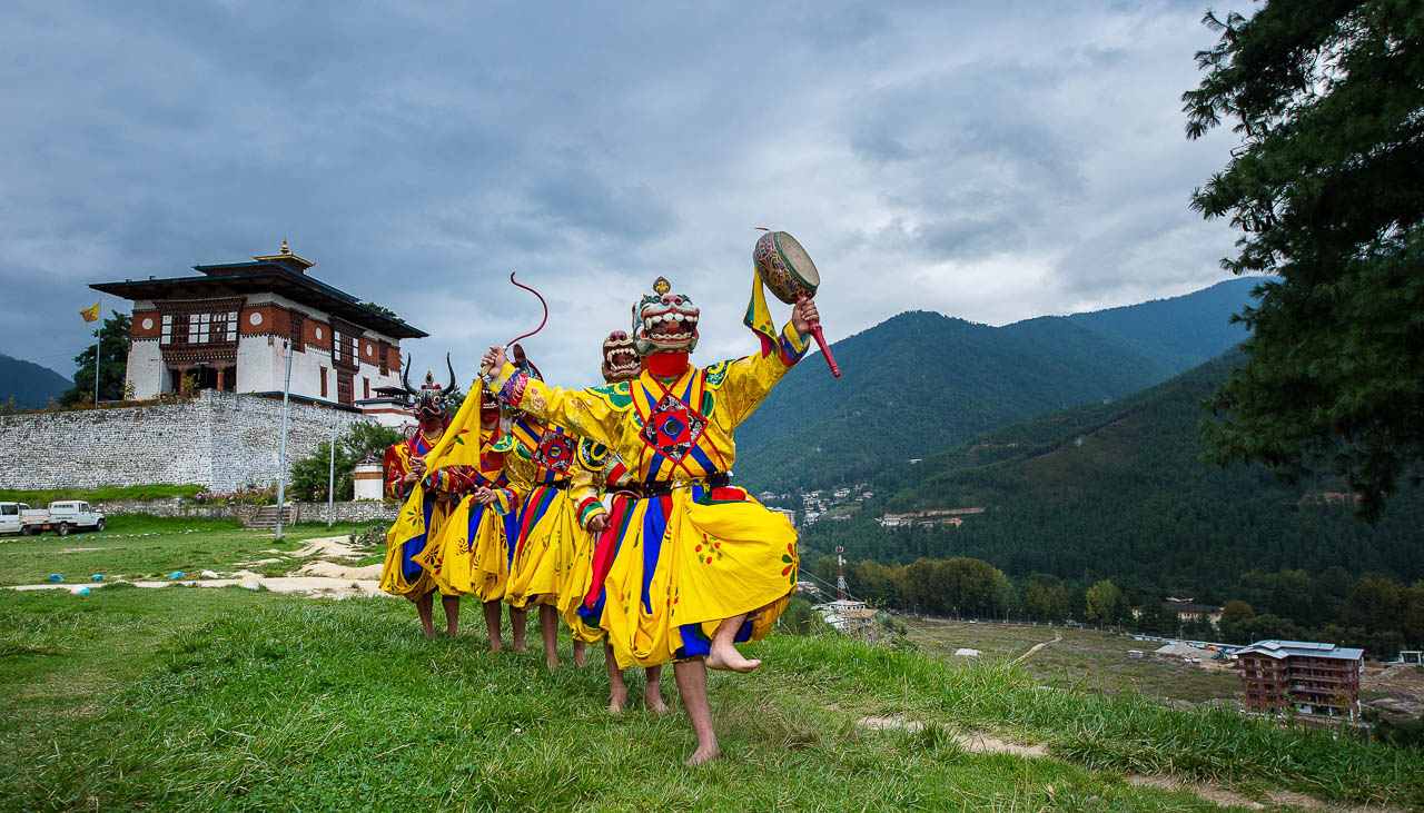 Klosterfest in Bumthang