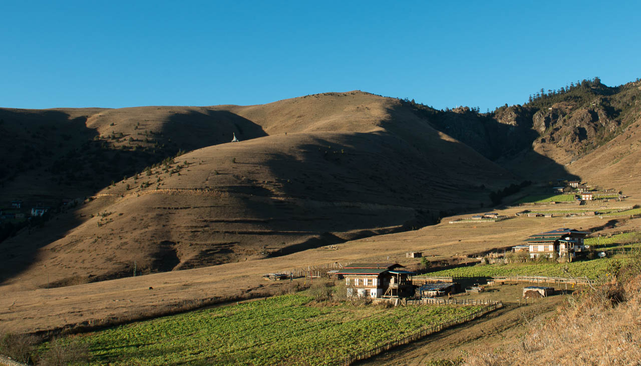 Das Tal von Phobjikha