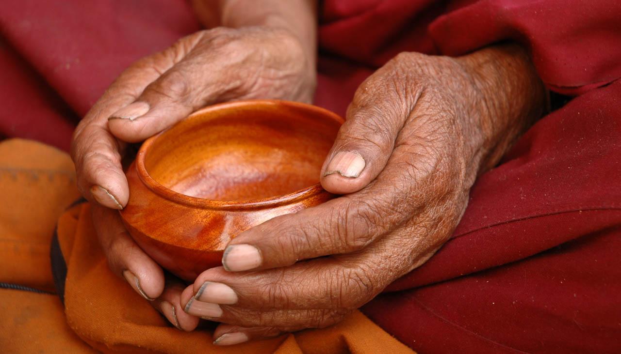 Die höheren Regionen in Nepal sind mehrheitlich buddhistisch