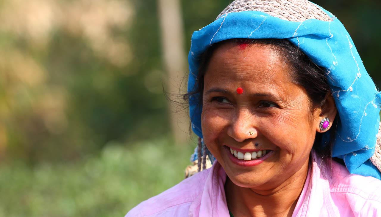 Viele Bewohner im indischen Teil des Himalaya folgen dem Hinduismus