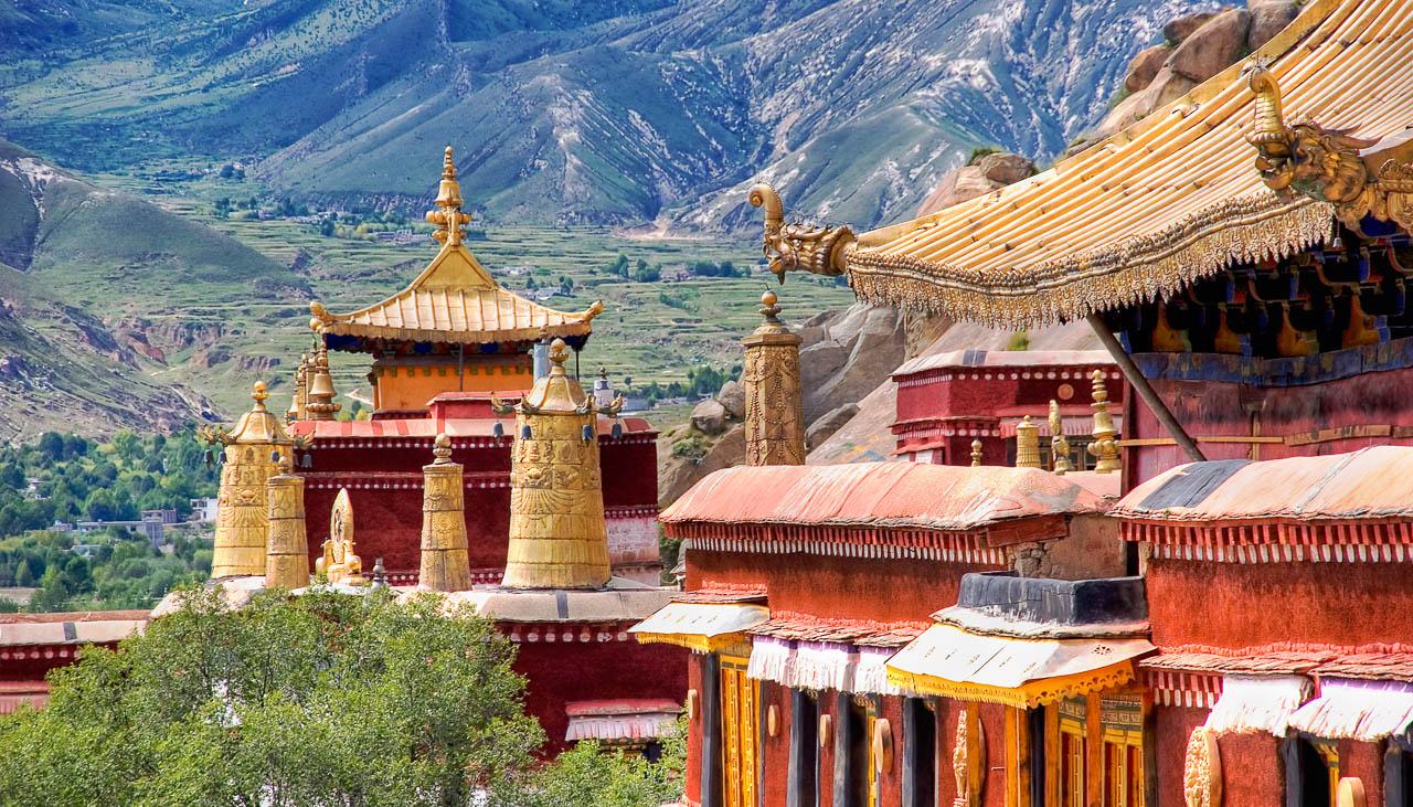 Reisen zu heiligen Klöstern in Tibet
