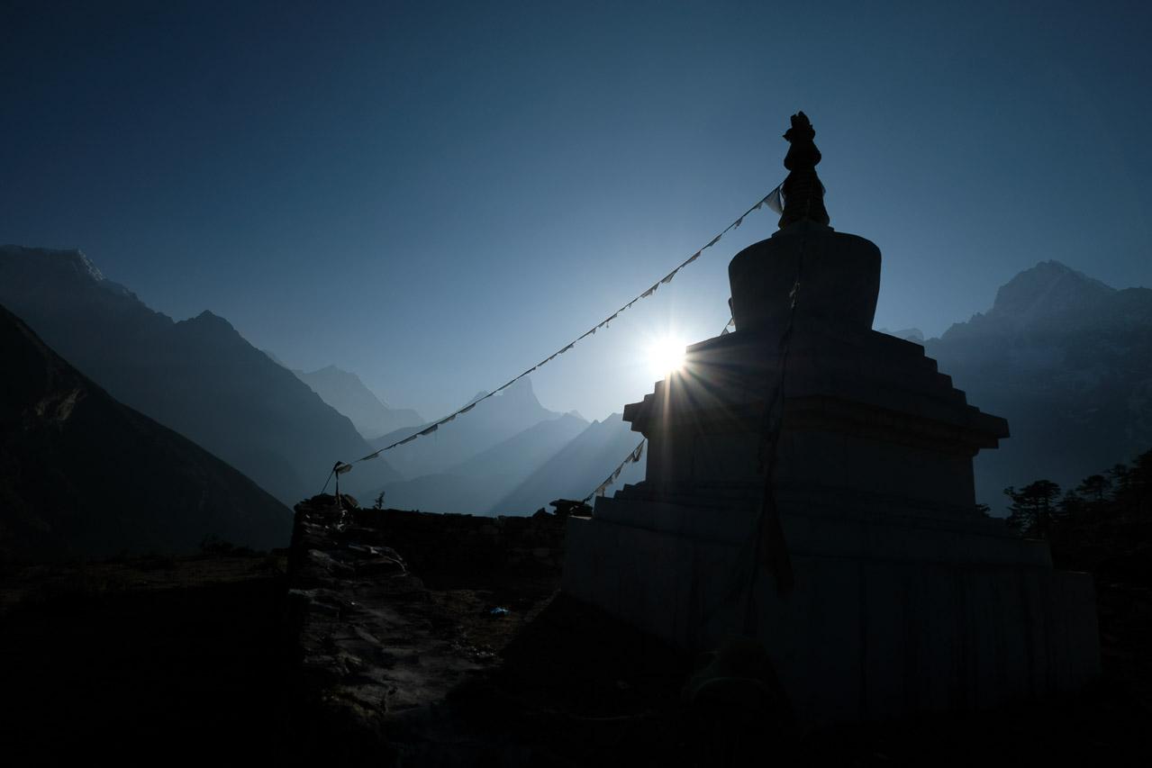 Chörten in Khumjung