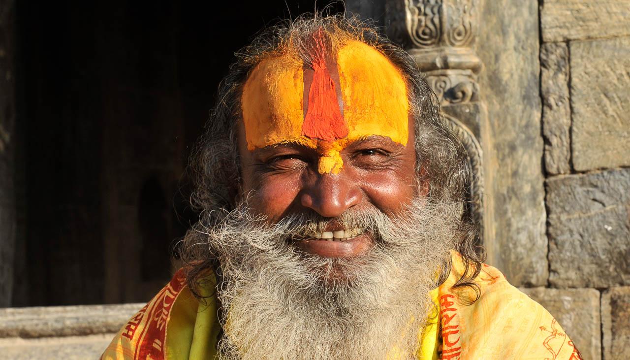 Hinduistischer Sadhu in Kathmandu