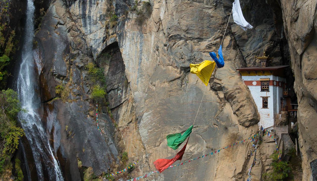 Ehemalige Einsiedelei in Bhutan