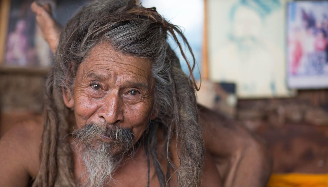 Sadhu im Indischen Himalaya