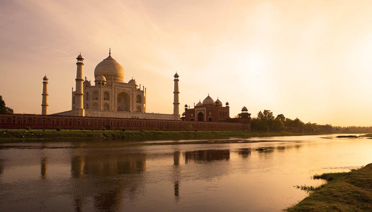 Taj Mahal in Agra, zwar nicht im Himalaya aber auf dem Weg dorthin