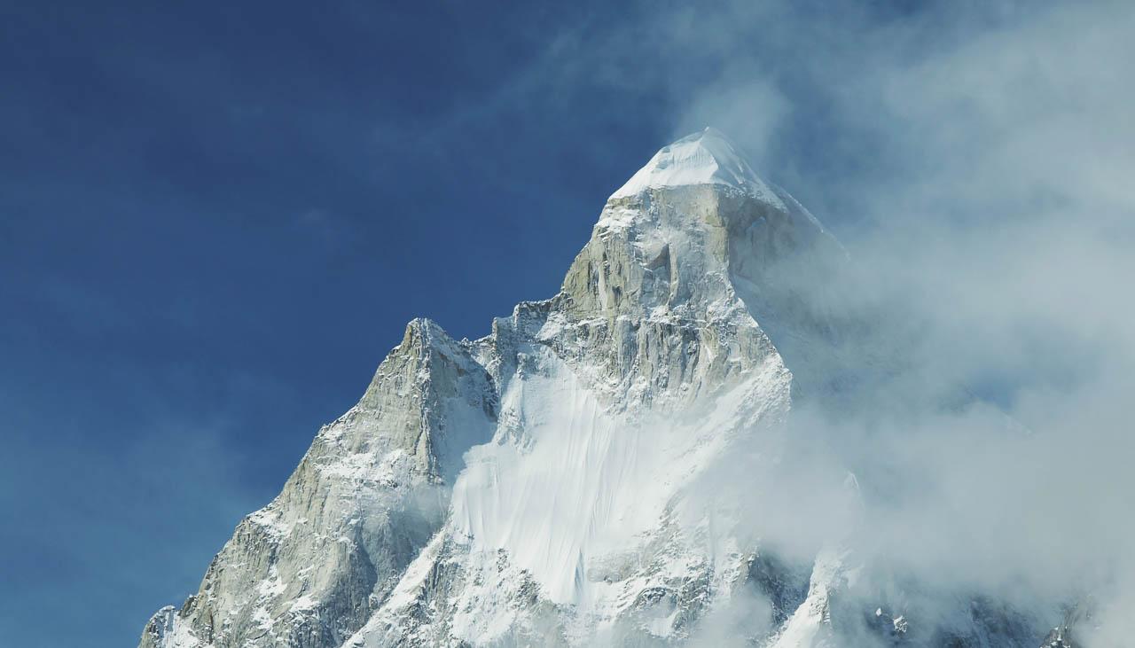Gipfel des Shilving in Garhwal