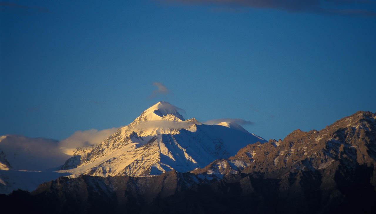 6123 Meter hoher Gipfel des Stok Kangri