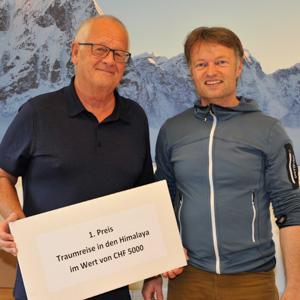 Thomas Zwahlen, Himalaya Tours, Wettbewerb, Traumreise zu gewinnen