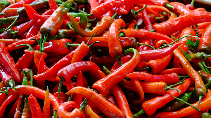 Chili sind die wichtigste Zutat in der bhutanesischen Küche