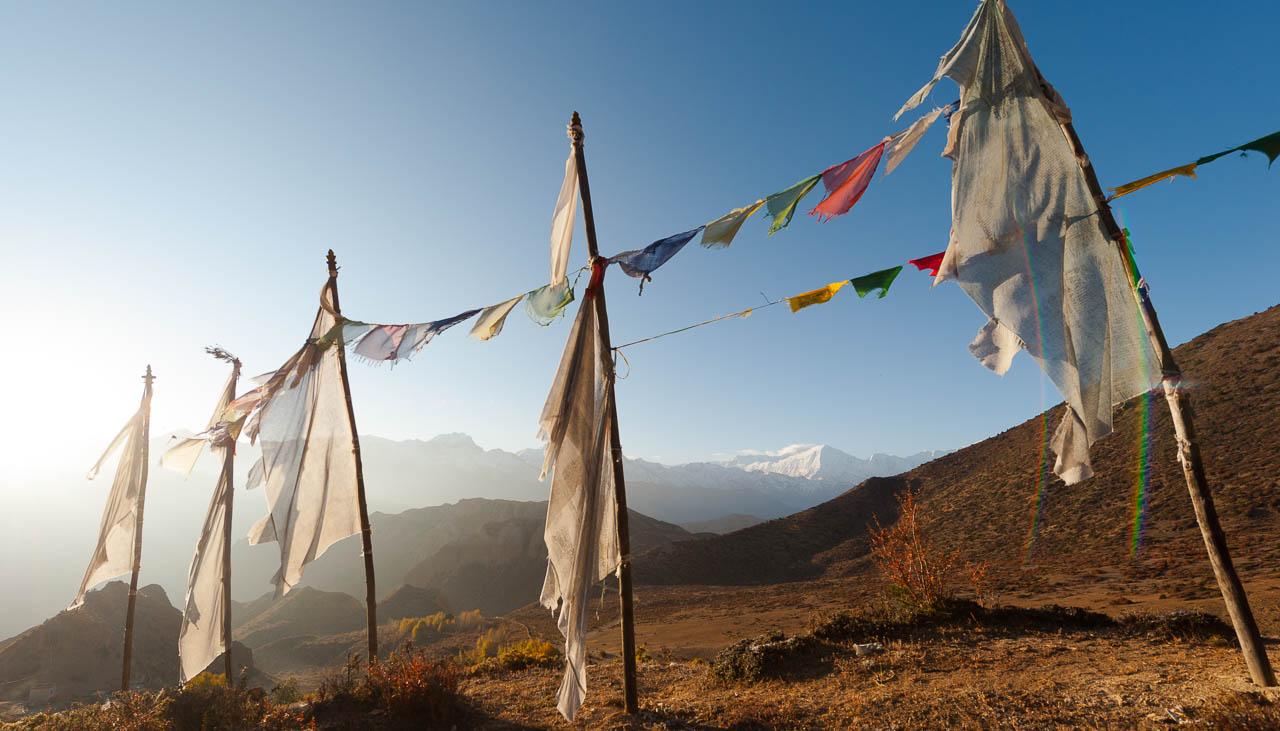 Lo Gekar gilt als ältestes buddhistisches Kloster in Nepal