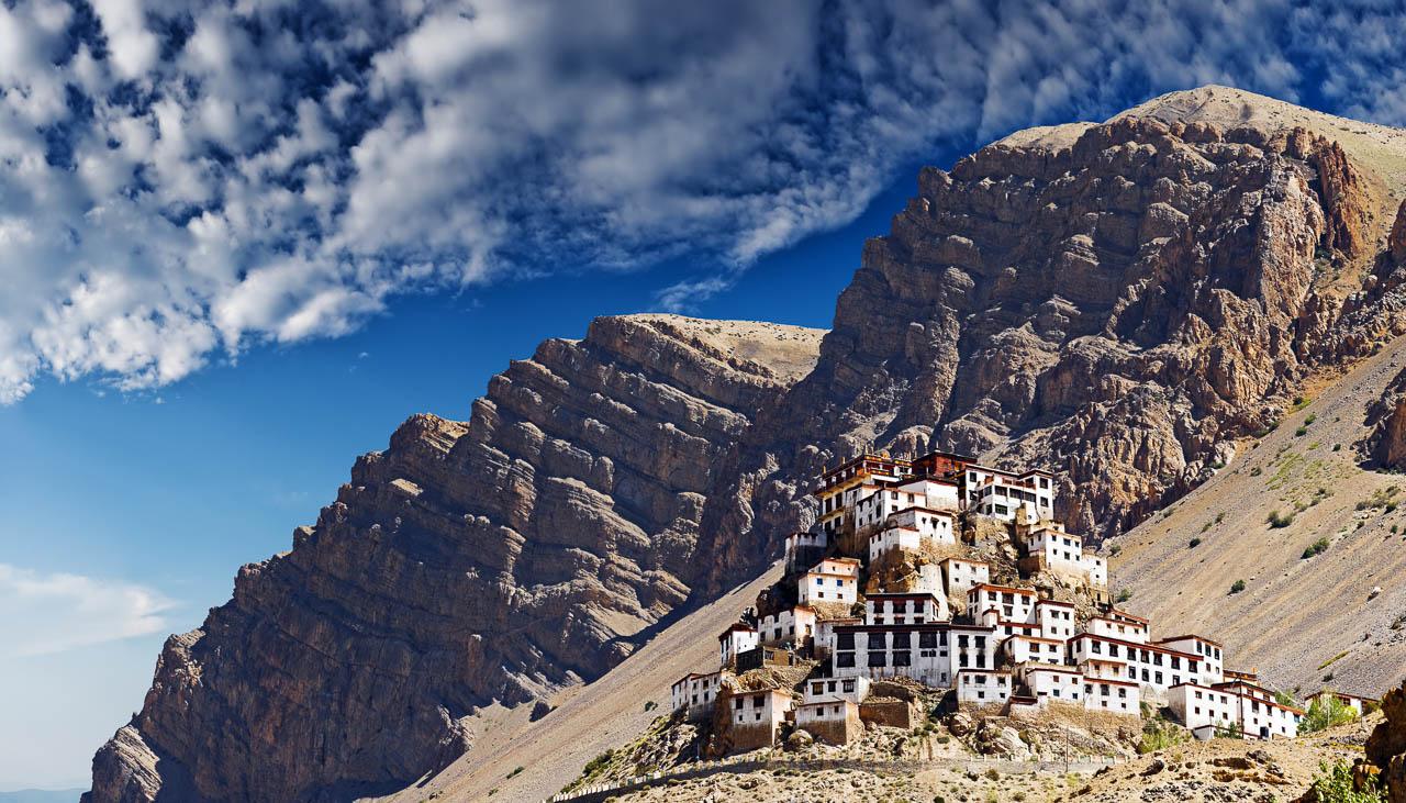 Kloster Kye in Spiti im Indischen Himalaya