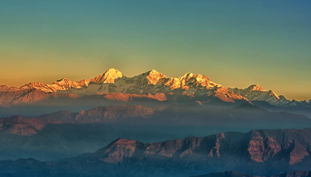Bergwelt des Indischen Himalaya