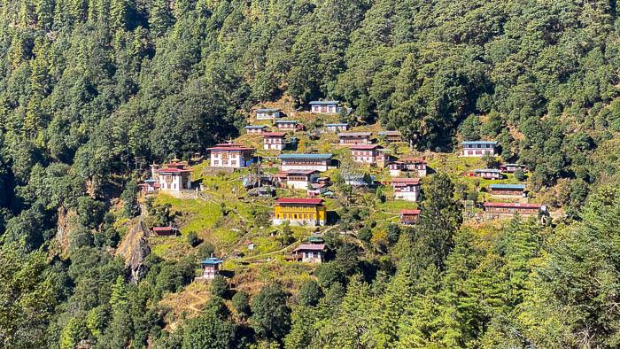 Klosterschule von Dechenphu oberhalb von Thimphu