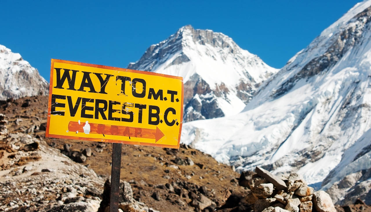 Trekking zum Mount Everest Basecamp in Nepal