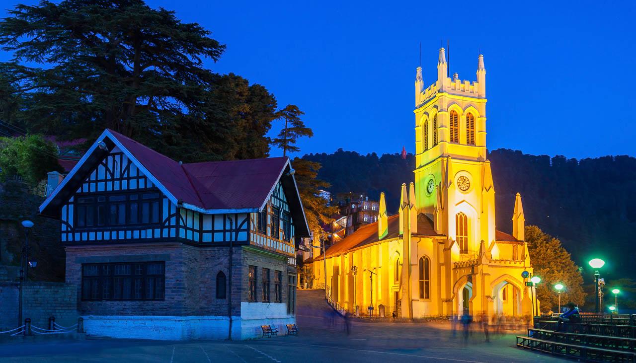 Shimla in Himachal Pradesch