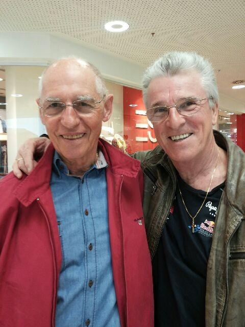 Schier Richard, 75 (links) u. Peter Reicher, 67
